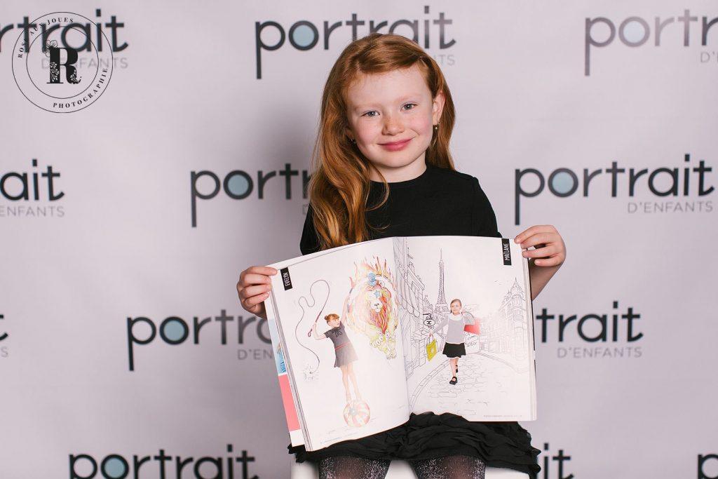 portrait d'enfants magazine photos